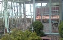 Раздвижные холодные окна для беседки - красиво и бюджетно!