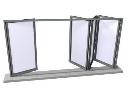 Новинка – система складывающихся дверей Reynaers CF 77